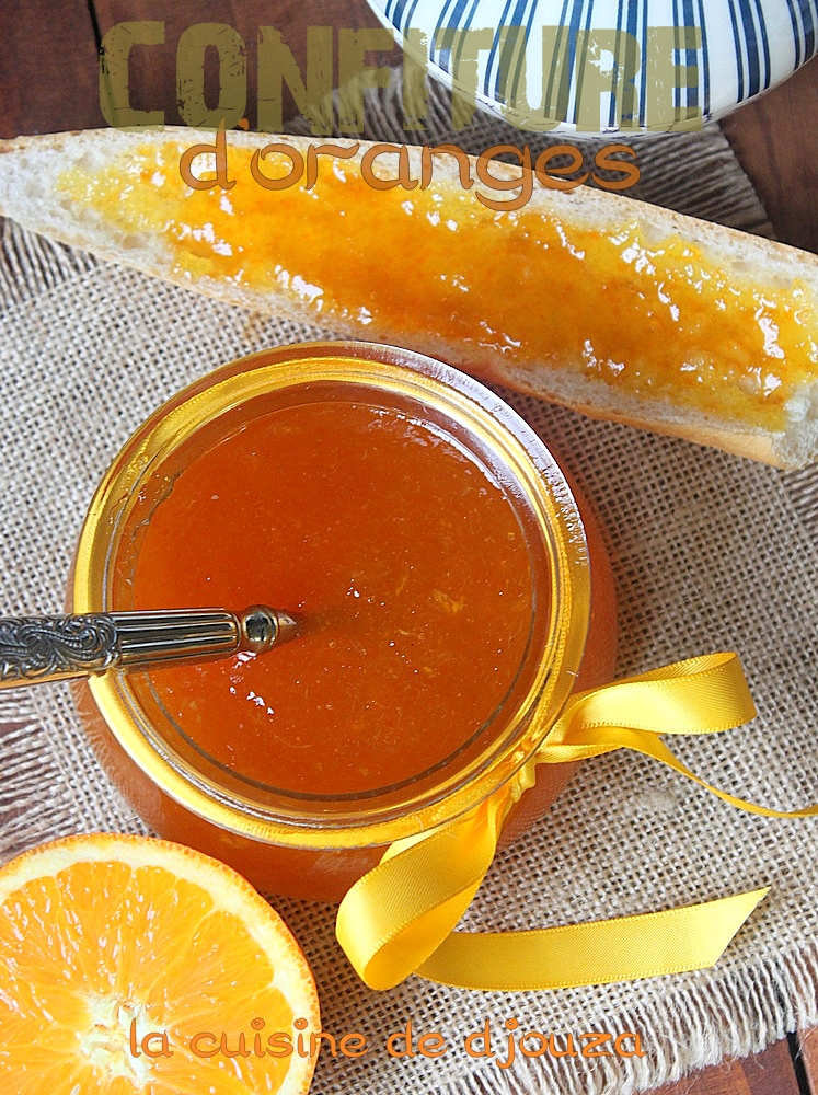 confiture d 39 oranges am res recettes faciles recettes rapides de djouza. Black Bedroom Furniture Sets. Home Design Ideas