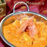 Crevette sauce tikka massala