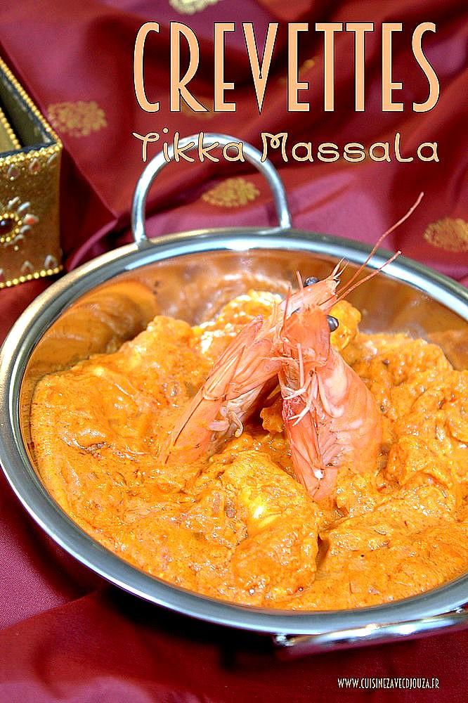 Crevette indienne massala