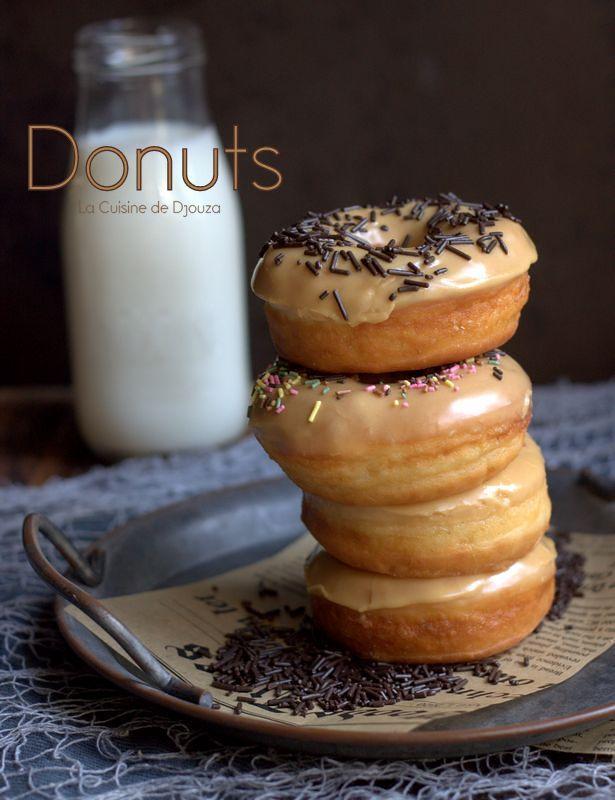 Donuts glacés café