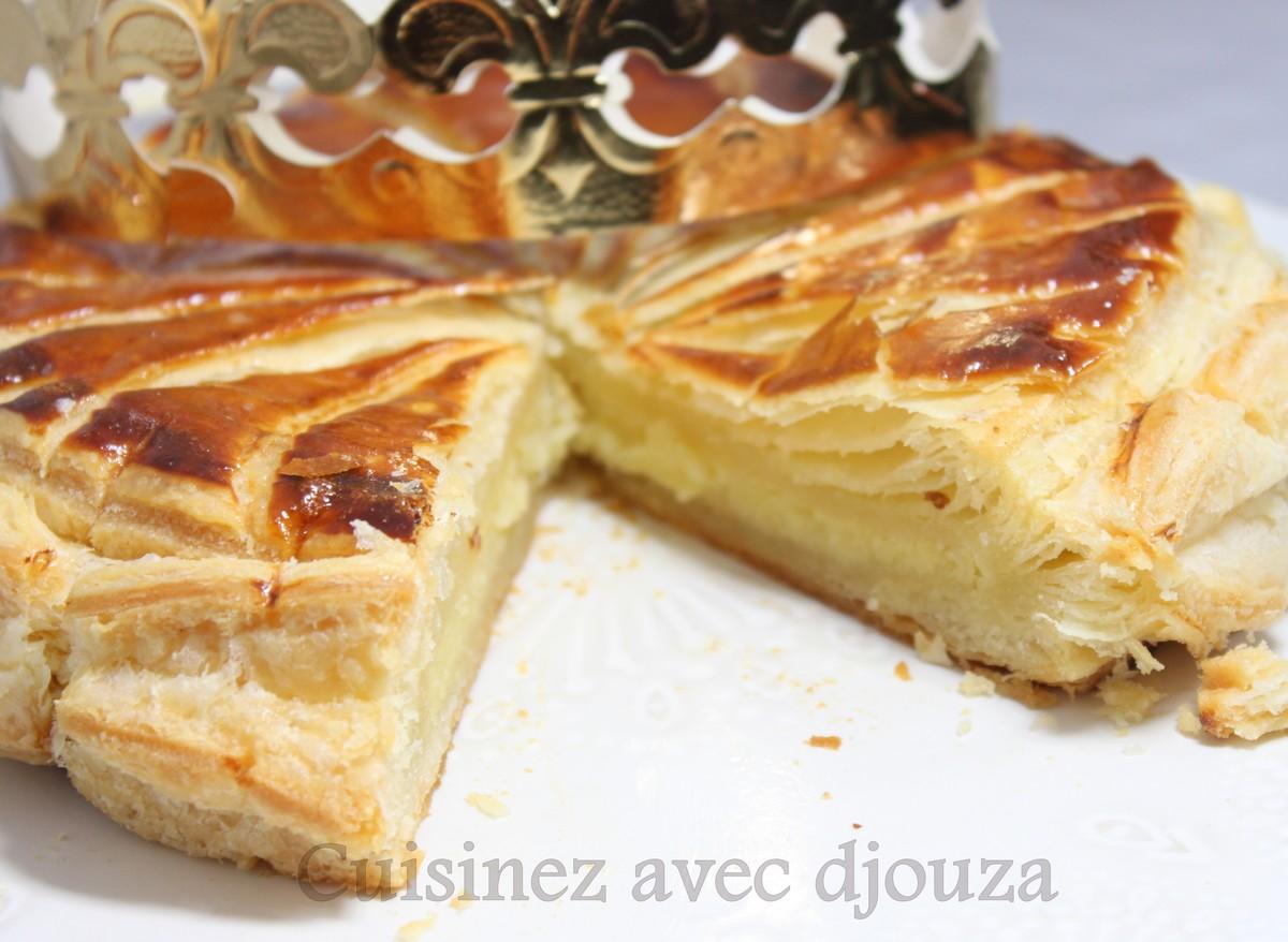 Galette des rois frangipane a l 39 orange recettes faciles recettes rapides de djouza - Galette des rois maison ...