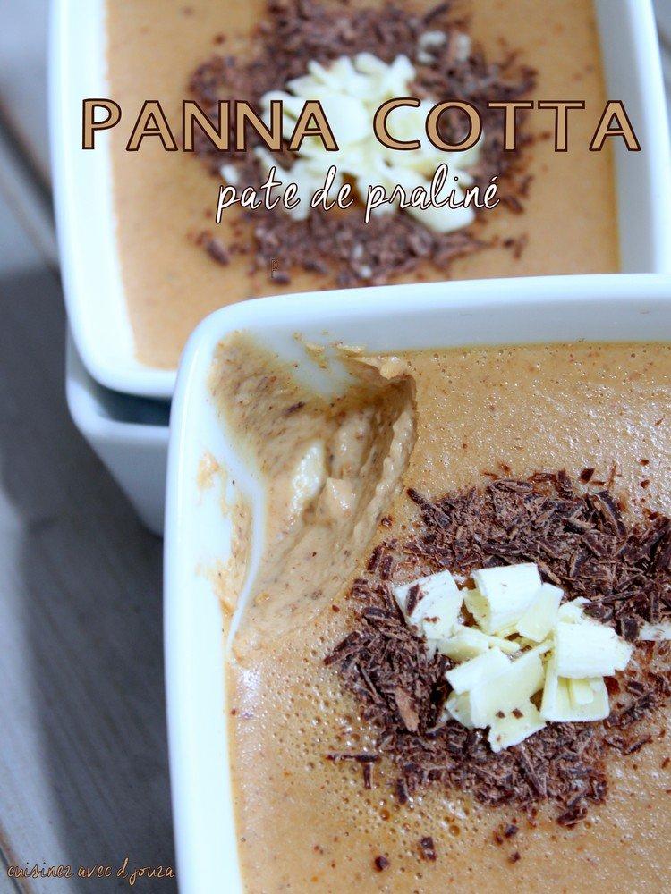 Panna cotta pralin recettes faciles recettes rapides de djouza - Panna cotta herve cuisine ...