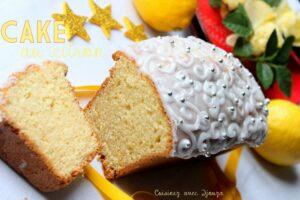 Cake au citron et yaourt moelleux
