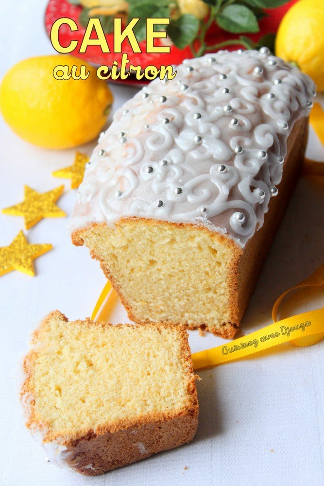 Cake au yaourt et citron très moelleux