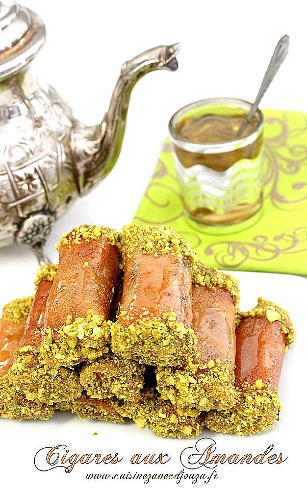Cigare aux amandes et miel algerien