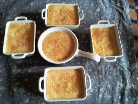 Crème brulée vanille des iles