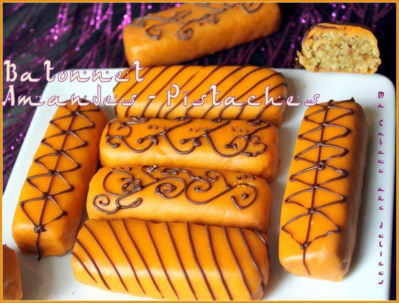 Gateau algérien amande pistache