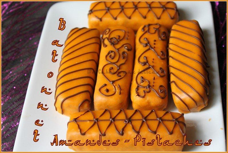 Gateau algérien glaçage chocolat