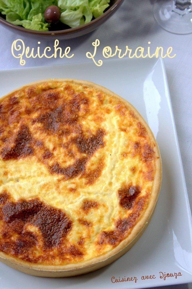 Quiche lorraine de cyril lignac blogs de cuisine for Cuisine quiche lorraine