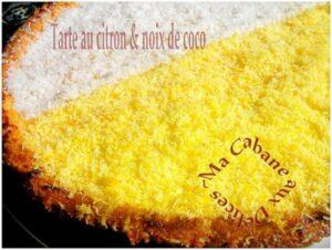 Tarte au citron noix de coco express