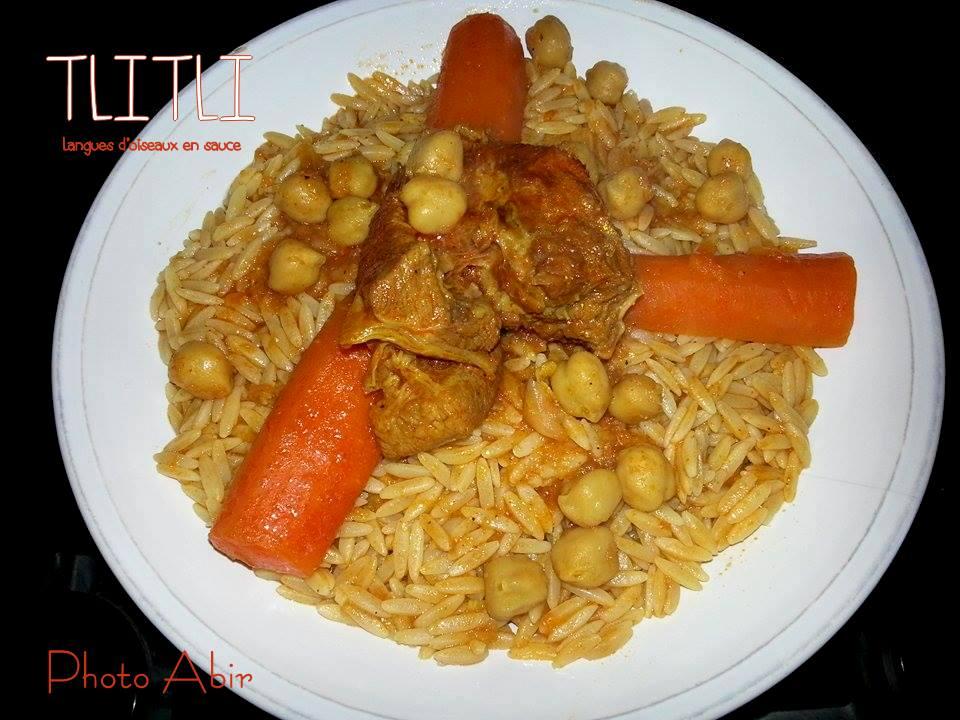 Tlitli pates algerienne en sauce recettes faciles - Recette de cuisine algerienne traditionnelle ...