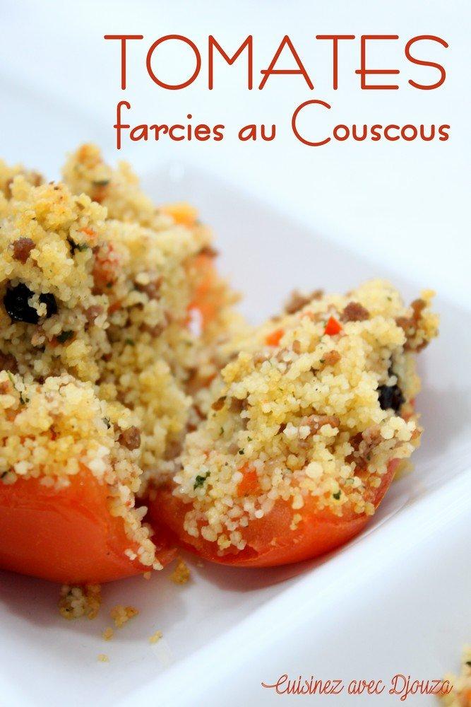 Tomates farcies à la semoule de couscous