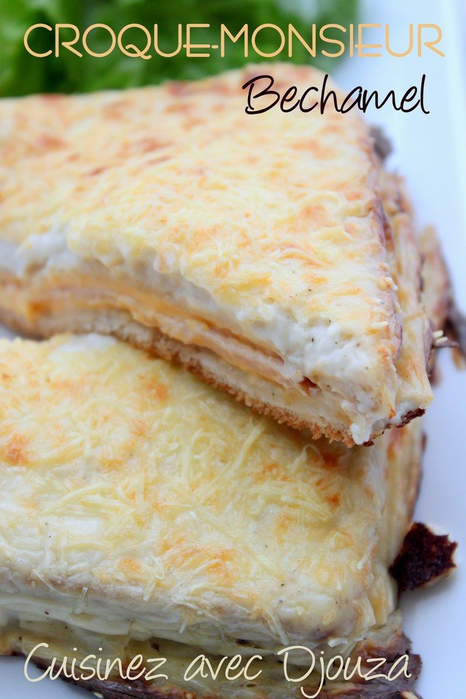 croque monsieur bechamel onctueuse recettes faciles. Black Bedroom Furniture Sets. Home Design Ideas