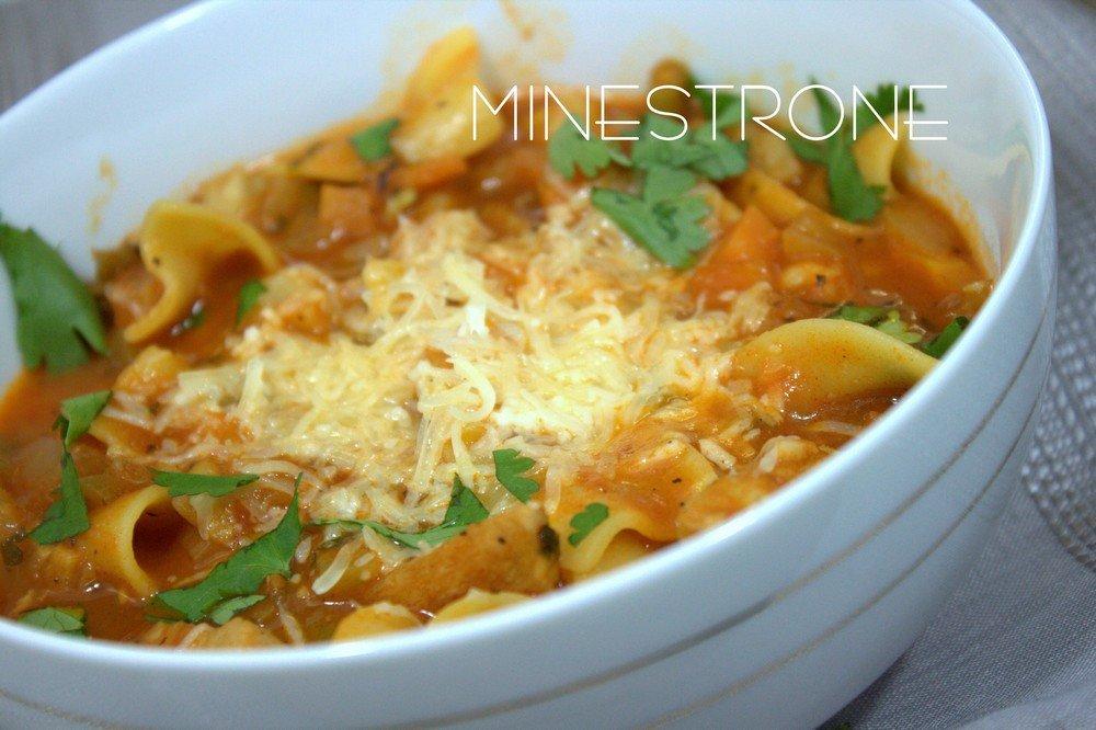 minestrone soupe de pates facile recettes faciles recettes rapides de djouza