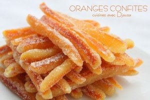 Faire ses oranges confites