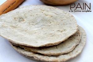 pita pain a la farine complete