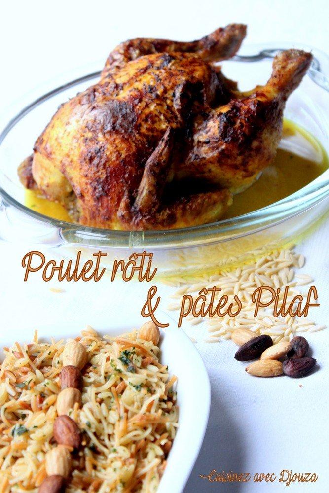 Accompagnement poulet roti la cuisine de djouza for Accompagnement cuisine