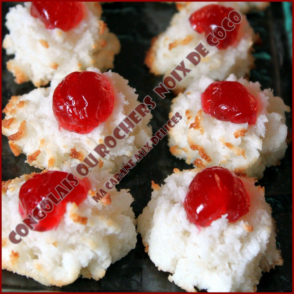 Congolais rochers noix de coco 2