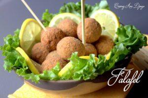recette Falafel maison avec des feves une spécialité egyptienne