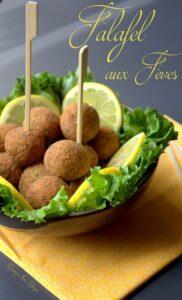 recette Falafels maison avec des feves une spécialité egyptienne