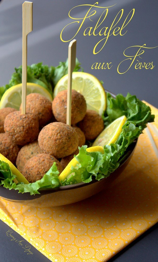 Falafel de feves maison