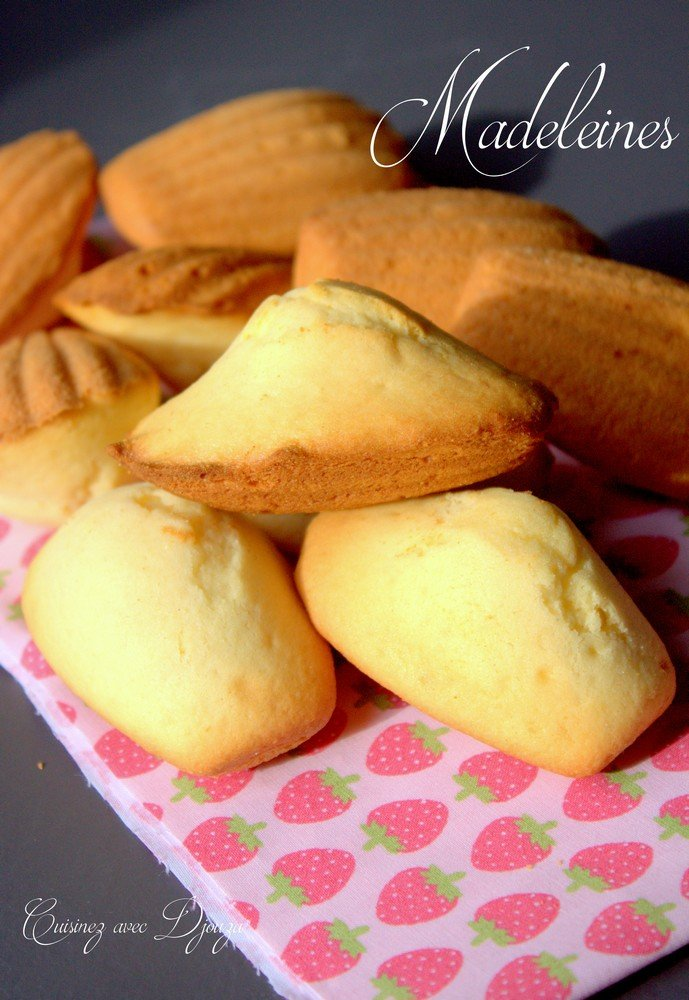 Recette de madeleine facile avec la bosse