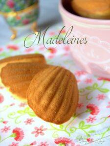 Recette de madeleine facile avec la bosse 1