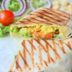 Tacos, sandwich au poulet 1