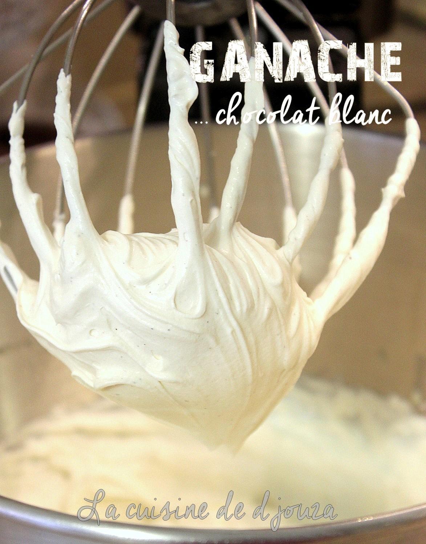 ganache mont 233 e au chocolat blanc recettes faciles recettes rapides de djouza