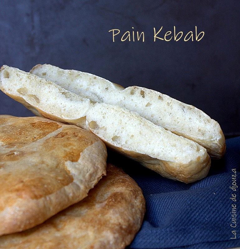 Recette pain kebab maison