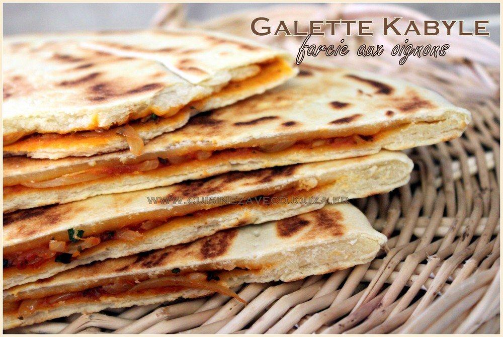 Galette farcie aux oignons kesra kabyle