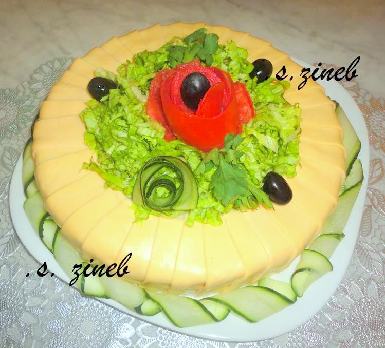Gateau Algérien De L Aid El Faloudaj Gateau Aux Pistaches: Gateau Salade De Riz Composée
