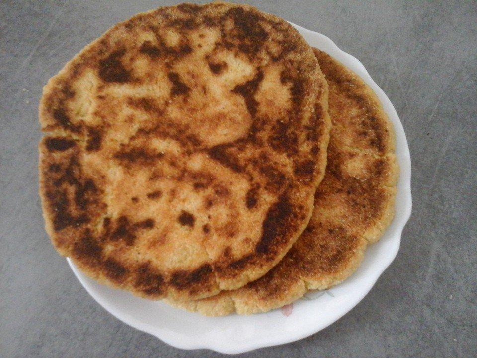 Harcha galette marocaine au yaourt Kheira Benamar