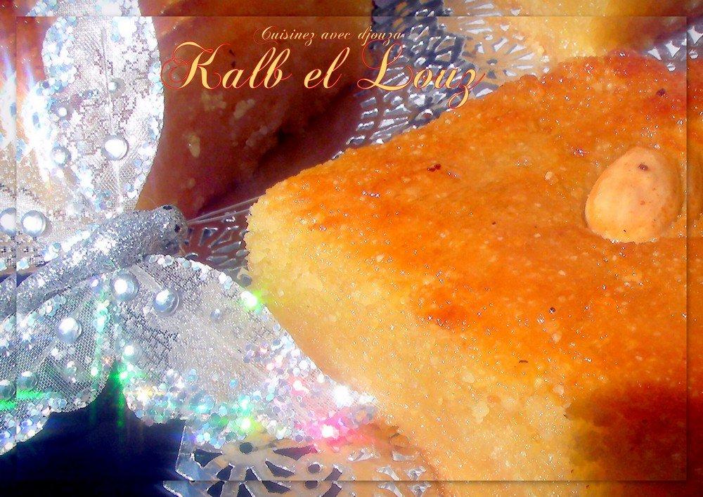 Kalb el louz au yaourt ou lben, recette ramadan