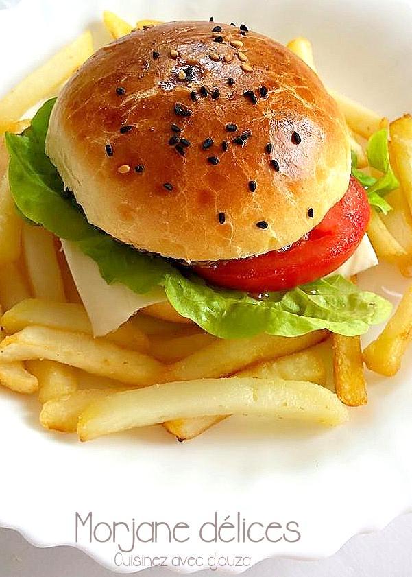 Recette pain hamburger maison rapide