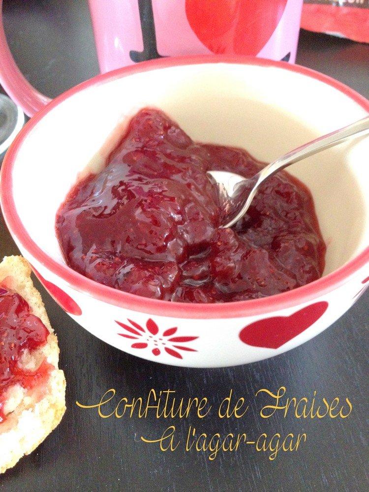 confiture de fraise recette maison