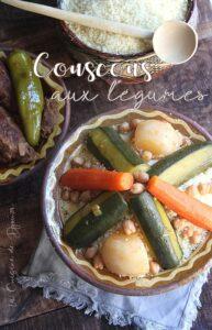 Couscous traditionnel viande et légumes