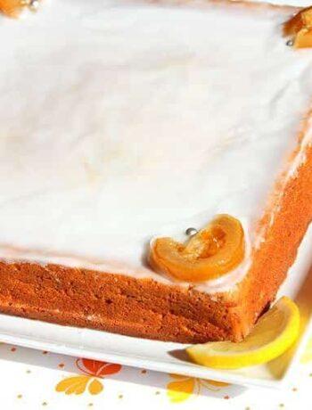 gateau moelleux citron et pavot