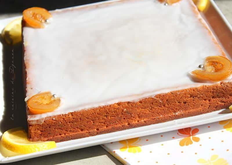 moelleux citronné aux graines de pavots