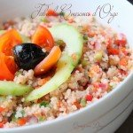 Taboule couscous d'orge aux légumes frais