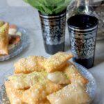 Oreiller algérien au miel gateau de ramadan