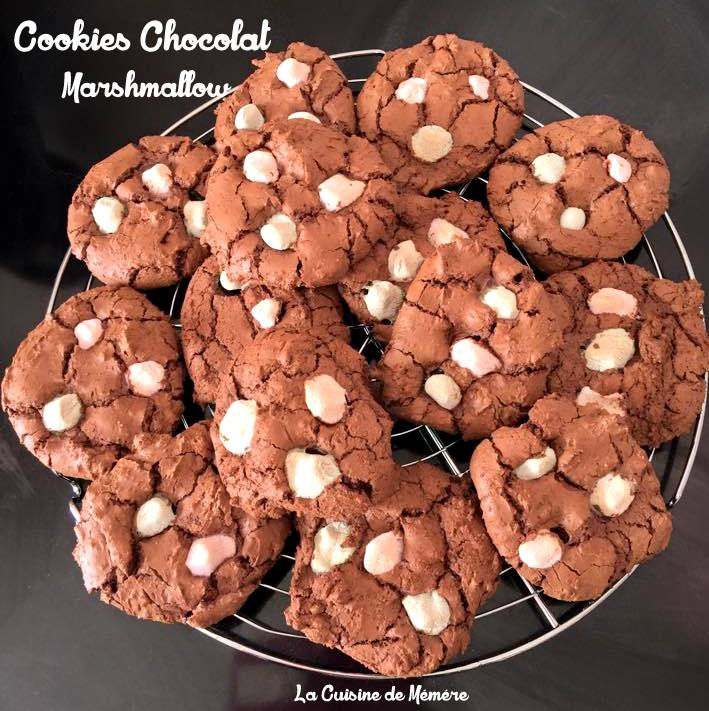 Cookies chocolat marshmallow