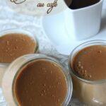 Crème dessert au café sans gluten