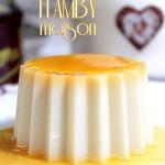 recette Dessert sans oeuf, flamby