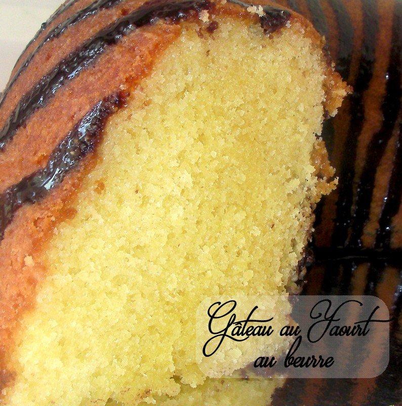 Gâteau au yaourt moelleux pur beurre