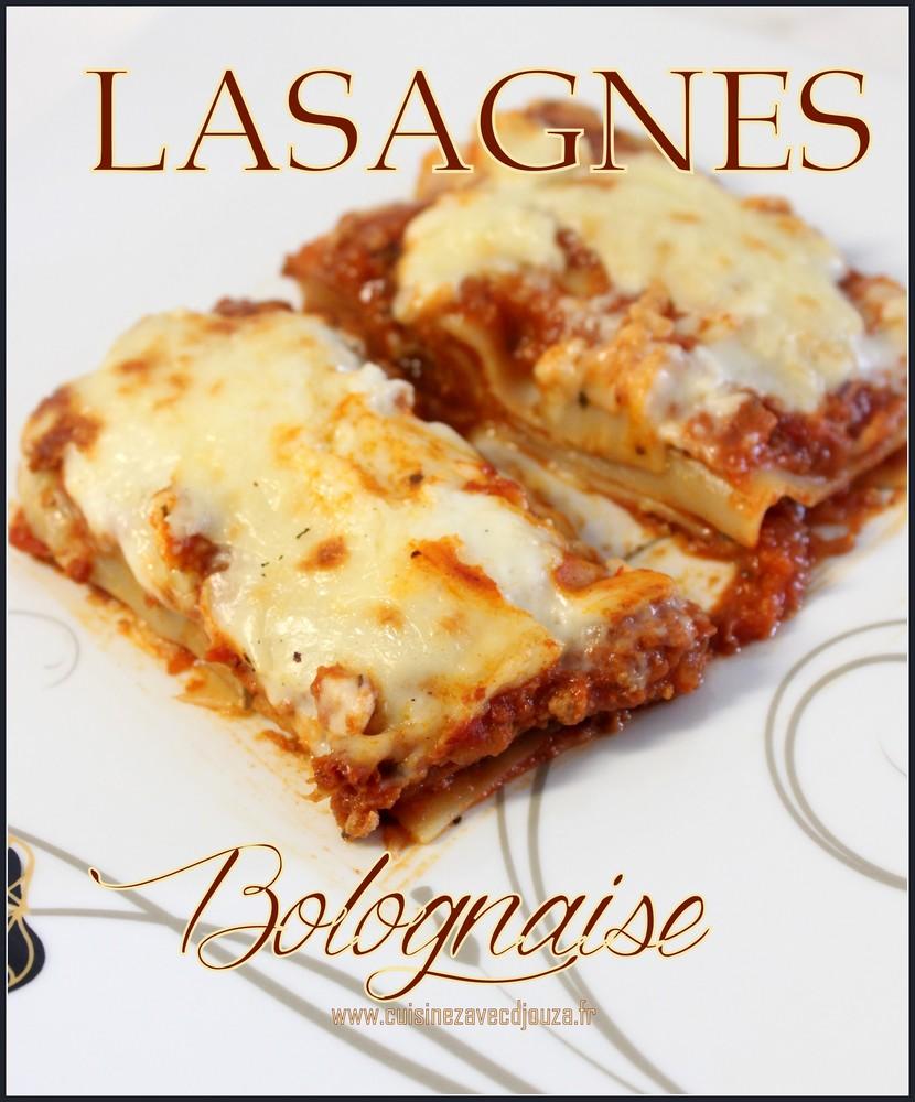 recette lasagne a la bolognaise italienne recettes. Black Bedroom Furniture Sets. Home Design Ideas