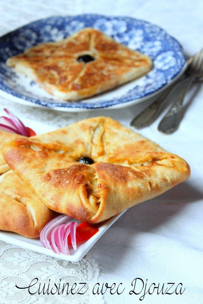 Recette msemen farci au four avec babeurre recettes - Recette de cuisine algerienne traditionnelle ...