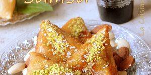 Samsa aux amandes pâte maison