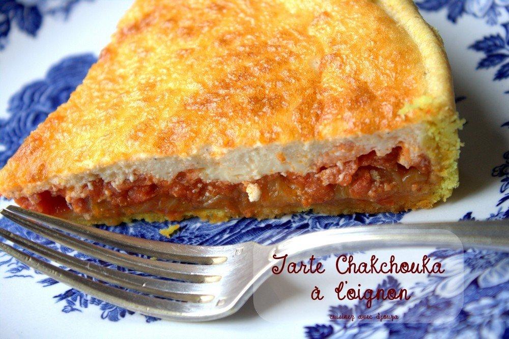 Tarte chakchouka tarte à l'oignon