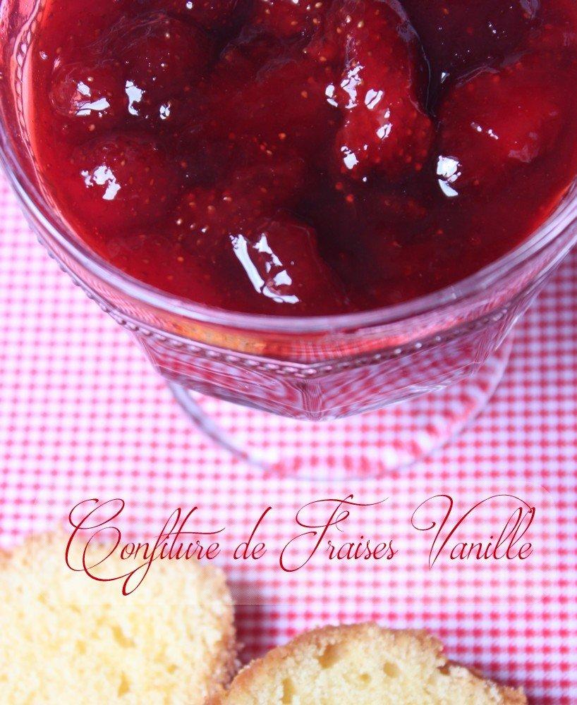 Confiture de fraises vanille de Mayotte